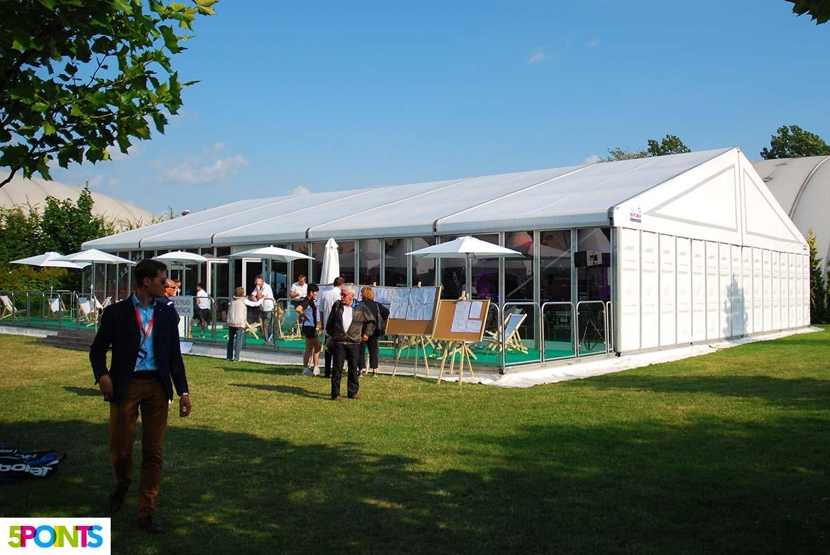 Amatorski Tenis Polski, Players Lounge - organizacja zawodów