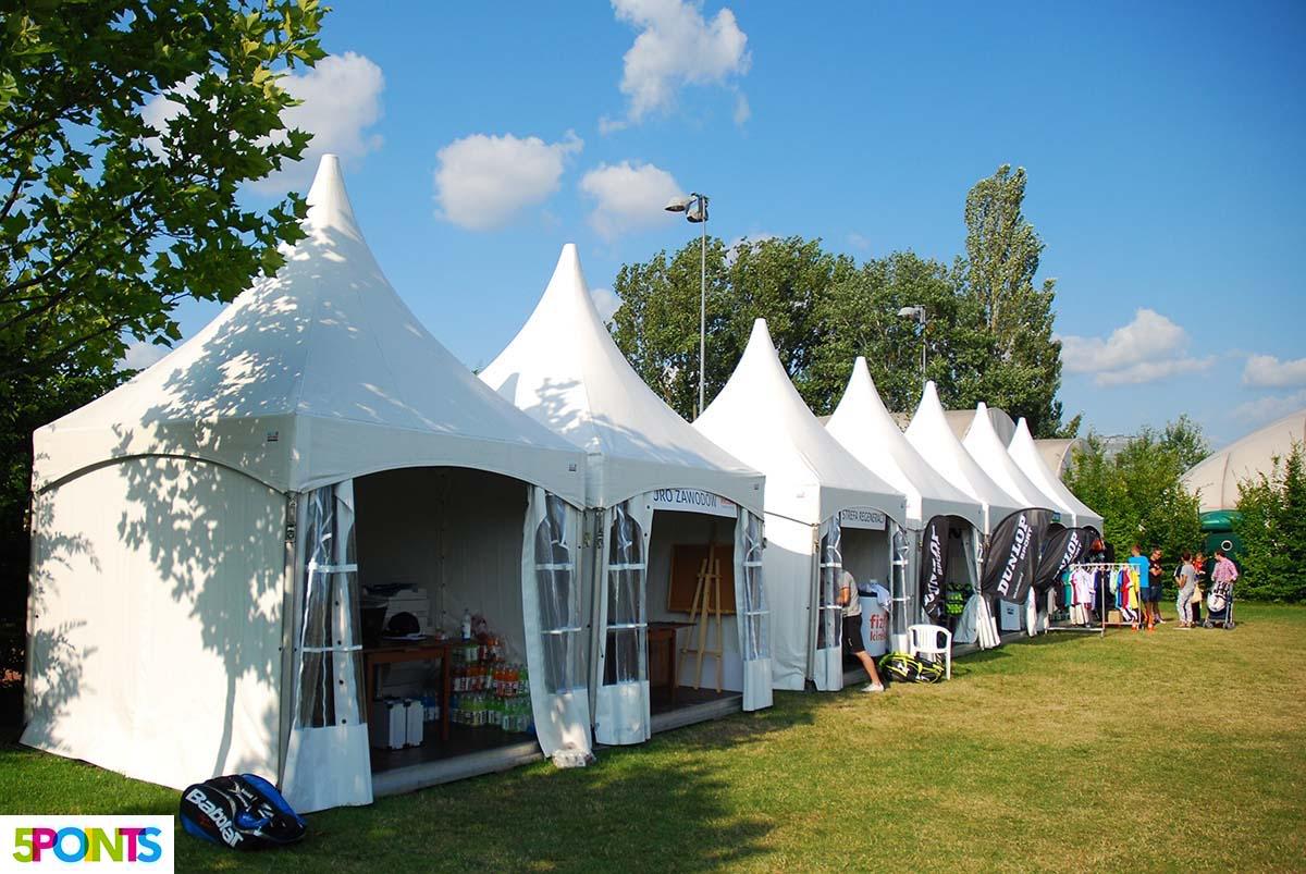 Amatorski Tenis Polski, targi, wystawcy - organizacja zawodów