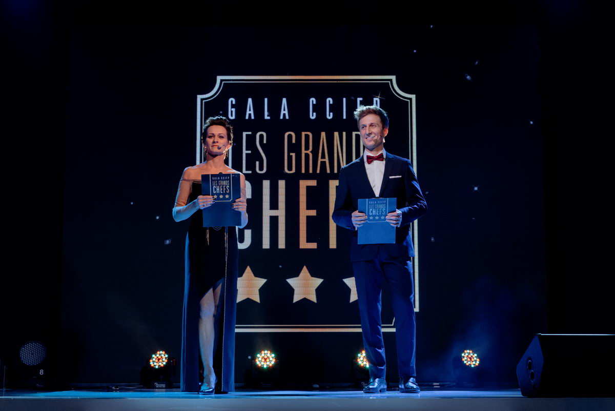 Gala CCIFP Les Grands Chefs, Hotel Sofitel - by 5points.pl